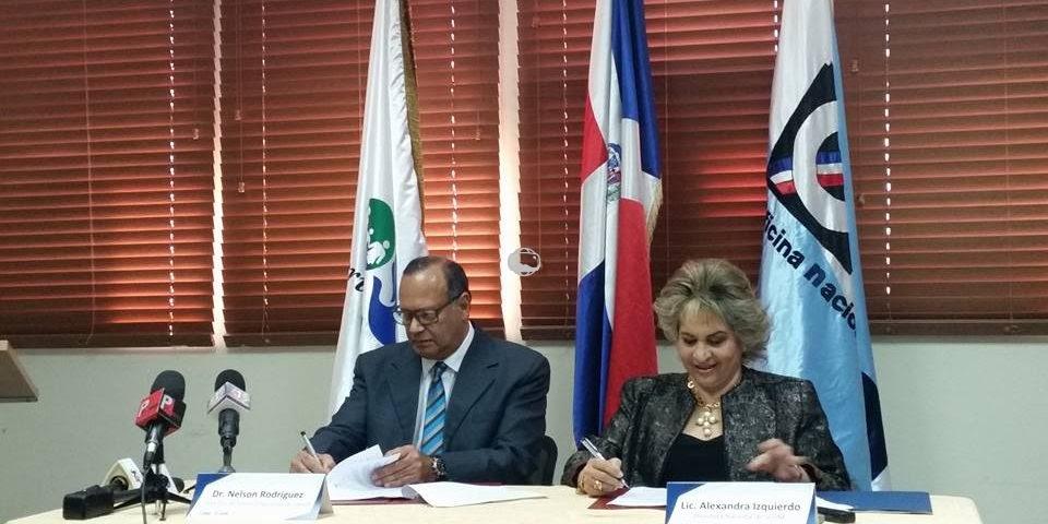 SNS y ONE firman convenio de colaboración que beneficiará registro de salud de la población