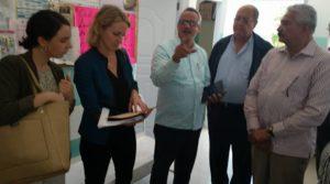 Representantes del BID visitan Servicio Regional de Salud Este.