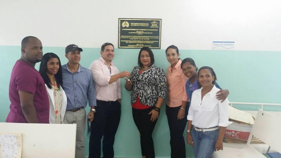 Gerencia de Área de Salud de Hato Mayor recibe CPNA de Yerba Buena remozado