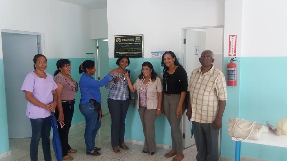 Gabinete de Políticas Sociales reconstruye Centro de Primer Nivel de Atención en Salud de la comunidad El Guayabal