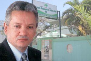 Dr. Virgilio Cedano se despide de sus compañeros del Servicio Regional de Salud Este luego de su renuncia.