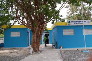 Servicio Regional de Salud Este recibe remodelado centro de Primer Nivel de Atención en Salud del Ingenio Porvenir.