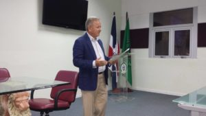 Dr. Virgilio Cedano participa en taller sobre programación de administración masiva de medicamentos antifiliaricos impartido por el CENCET.
