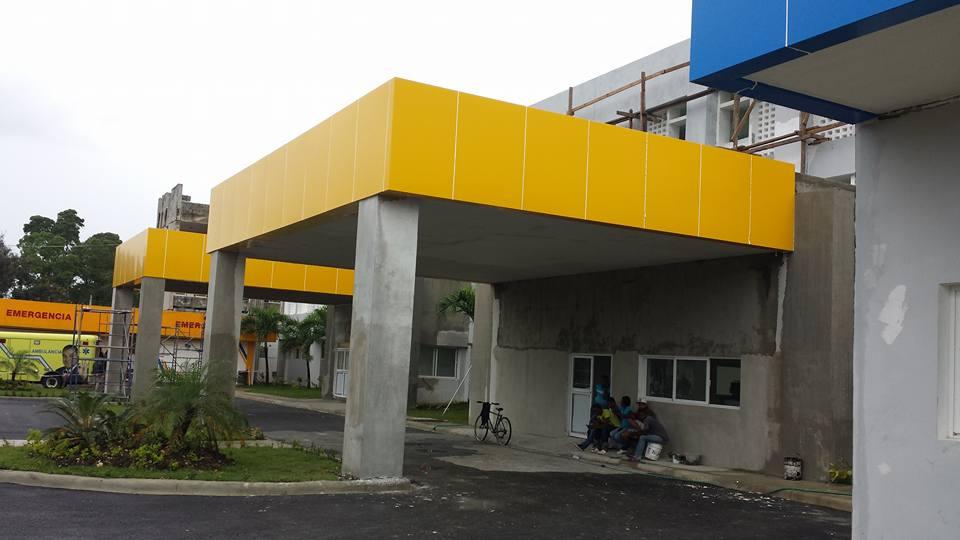 Trabajos en la remodelación del hospital Antonio Musa siguen avanzando.