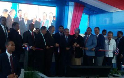 Presidente inaugura centro clínico y diagnóstico en Hato Mayor del Rey
