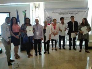 Reconocen hospital Francisco A. Gonzalvo por brindar servicios con calidad y humanización a pacientes con VIH