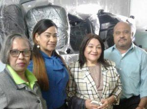 Servicio Regional de Salud Este entrega equipos y mobiliarios a gerencias de La Romana y Hato Mayor.