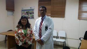 Dra. Derca Reyes destaca labor del personal de salud en asueto de Semana Santa.