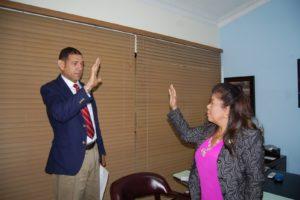 Juramentan al Dr. Dante Silvestre como gerente de Área en San Pedro de Macorís