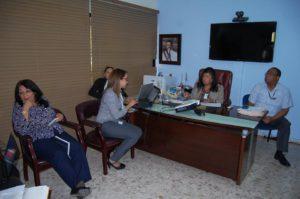 Dra. Derca Reyes se reúne con equipo del Programa de lucha contra la Tuberculosis.