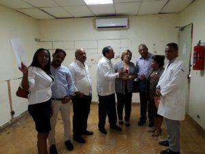 Directora Regional de Salud Este visita hospitales de La Romana donde en los próximos días se implementará el 911