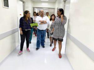Servicio Nacional de Salud (SNS) recibió este sábado la obra física del área Materno- Infantil del hospital Francisco A. Gonzalvo de La Romana.