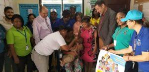 Inicia en San Pedro de Macorís, la Jornada de Vacunación en las Américas 2019