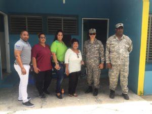 Dra. Derca Reyes visita UNAP de Isla Saona donde supervisa funcionamiento de la misma