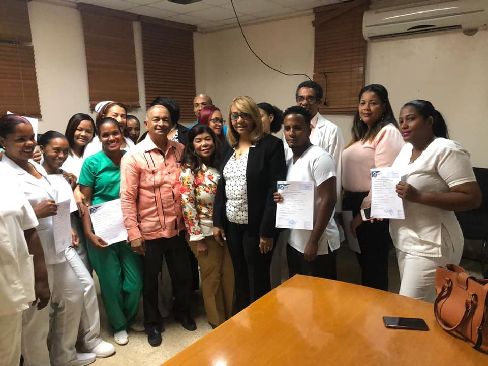 SNS entrega nuevos nombramientos en hospital Antonio Musa