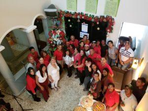 Servicio Regional de Salud Este da la bienvenida a época navideña