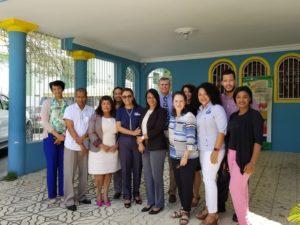 SRS Este recibe ejecutivos de Project HOPE y Voluntarios de Iglesia de los Últimos Días para impulsar proyecto de Cuidado materno neonatal.