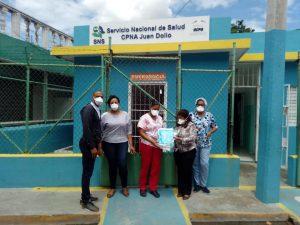 Servicio Regional de Salud Este hace entrega mascarillas y medicamentos para pacientes cronicos