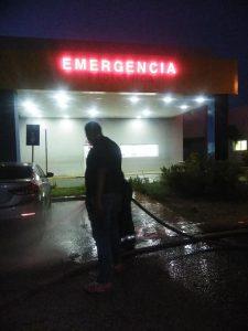 Realizan jornada de limpieza y desinfección en hospitales de SRS Este