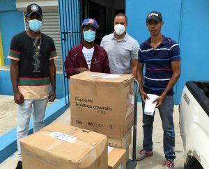 Continúa distribución Equipo de Protección Personal para hospitales SRS Este