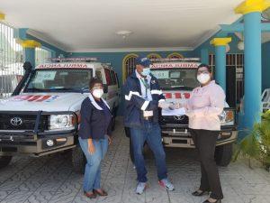 SRS Este recibe cinco ambulancias para fortalecer traslado de pacientes afectados de coronavirus