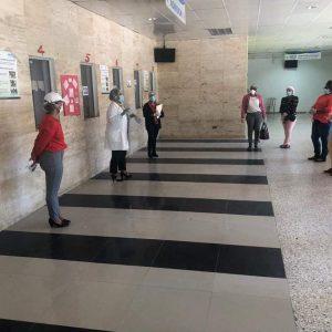 Hospital Jaime Oliver Pino posesiona personal médico, de enfermería y bioanalis recién nombrados por el SNS