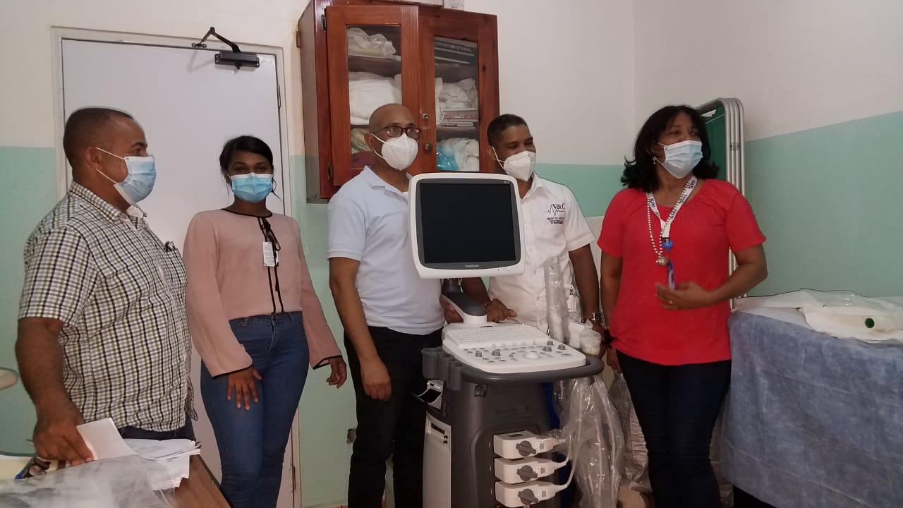 Hospital Materno Infantil La Altagracia de Higuey recibe nuevos equipos