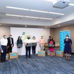 UNICEF entrega 9 ventiladores adicionales al SRS por solidaridad del Grupo Puntacana