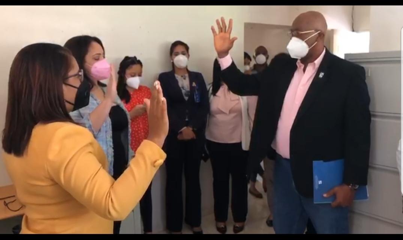 Director Regional de Salud Este juramenta nueva gerente de Área de Salud en el Seibo y ratifica a directora de hospital de esa provincia