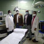 Director Regional de Salud hace levantamientos para la instalacion de Cuidados Intensivos.