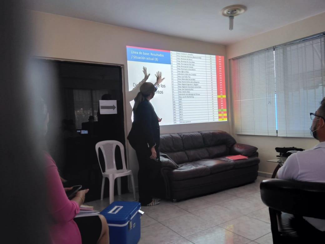 SNS realiza Taller de socialización con los Gerentes de áreasy Encargados de Laboratorios de la Región Este