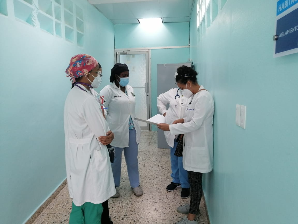Hospital Materno Infantil Dr. Francisco A. Gonzalvo en La Romana, envia mensaje de felicitacion.