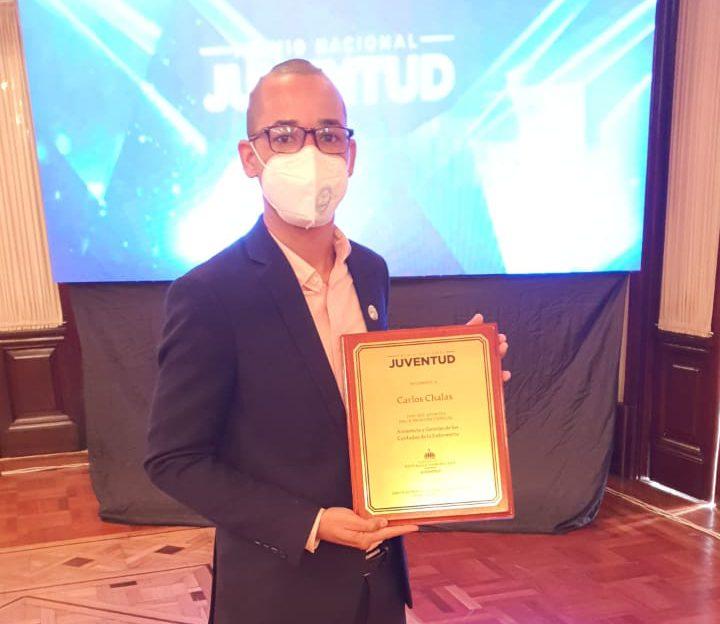 Colaborador Hospital Antonio Musa reconocido en Premio Nacional de la Juventud