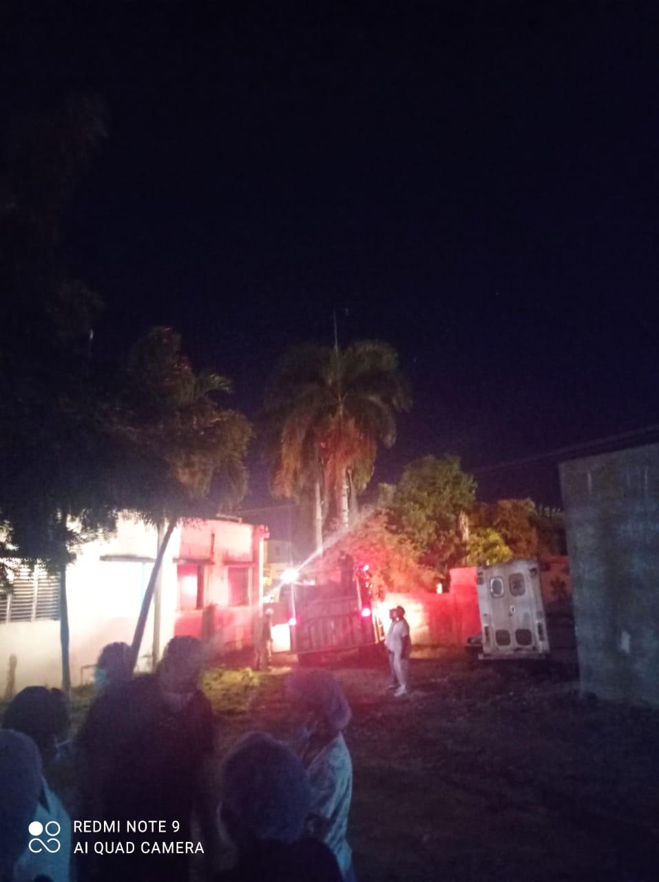 Controlan a tiempo incendio afectó Hospital Dr. Teofilo Hernandez
