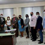 Director del Servicio Regional de Salud Este recibe visita del Director Nacional de Odontología.