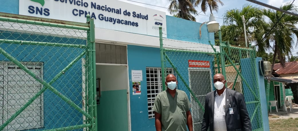 En aras de ofrecer asistencia médica de mayor calidad a la población, Director Regional de Servicios de Salud Este, reparará algunas áreas en CPNA de Guayacanes.