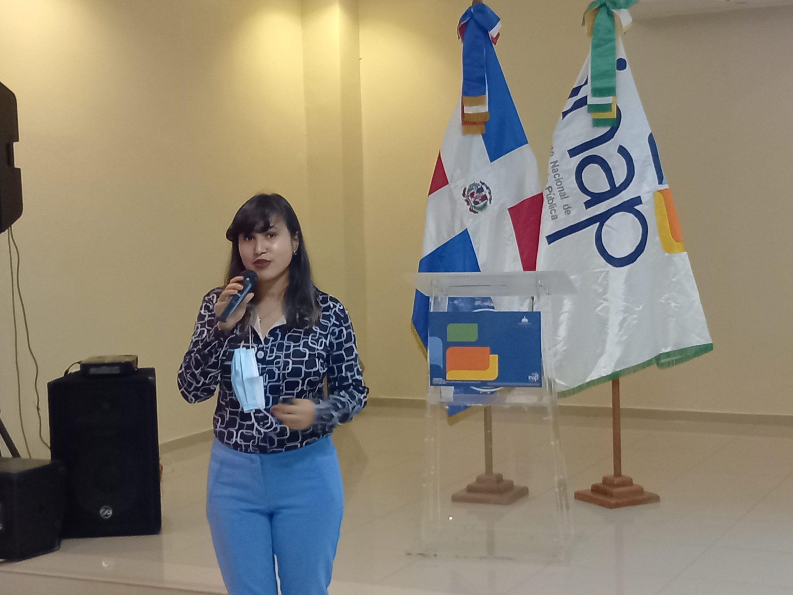 SRS Este participa en jornada de sensibilización para Instituciones públicas, realizada por INAP.