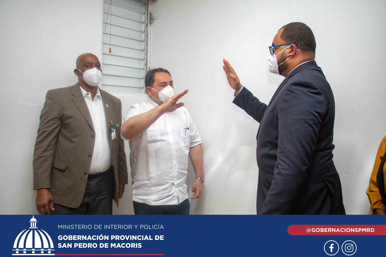 Posesionan nuevo Director del Hospital Regional Dr. Antonio Musa